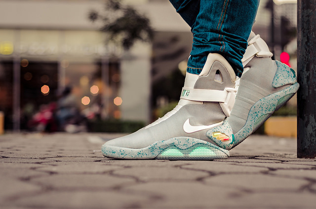 back to the future nike sneakers