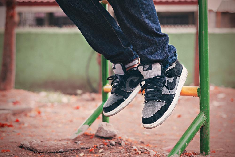 nike dunk sb medicom 2 sneakers
