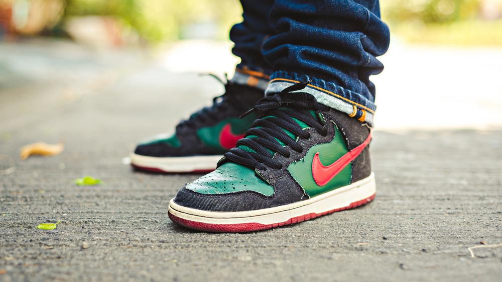 nike sb resn dunk sneakers