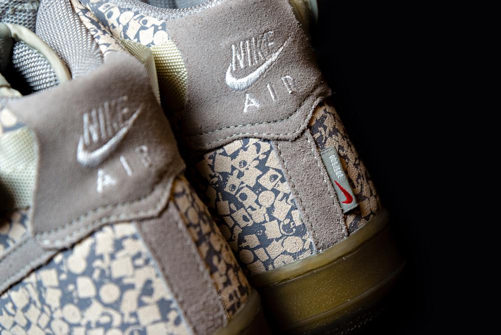 nike air force stash sneakers nozzle