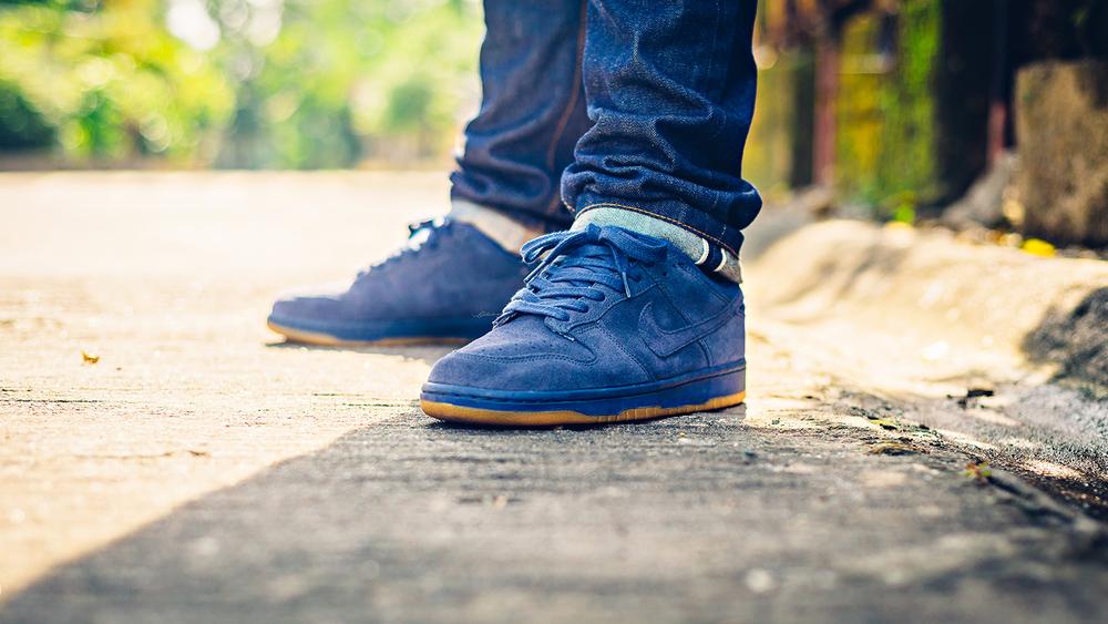 nike dunk co.jp un-smurf sneakers
