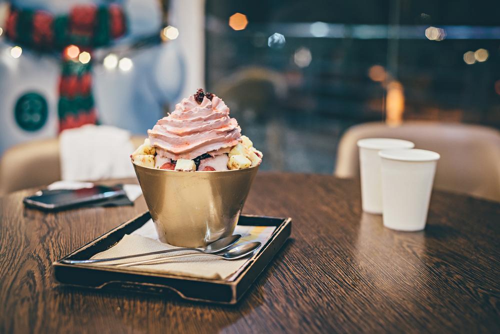 cafe seol hwa bingsu dessert
