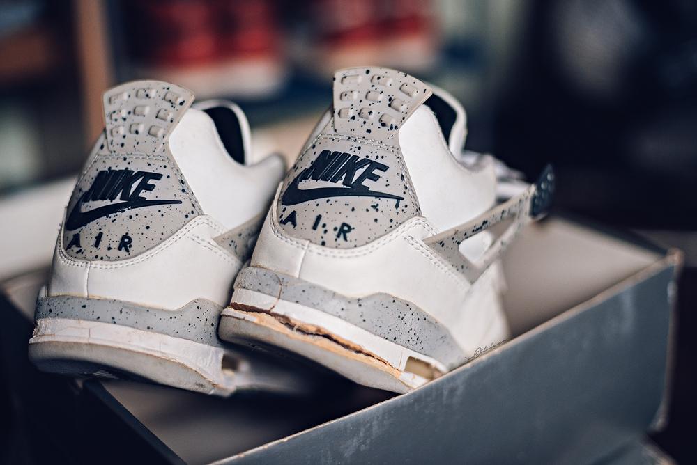 air jordan 4 white cement retro 1999 sneakers