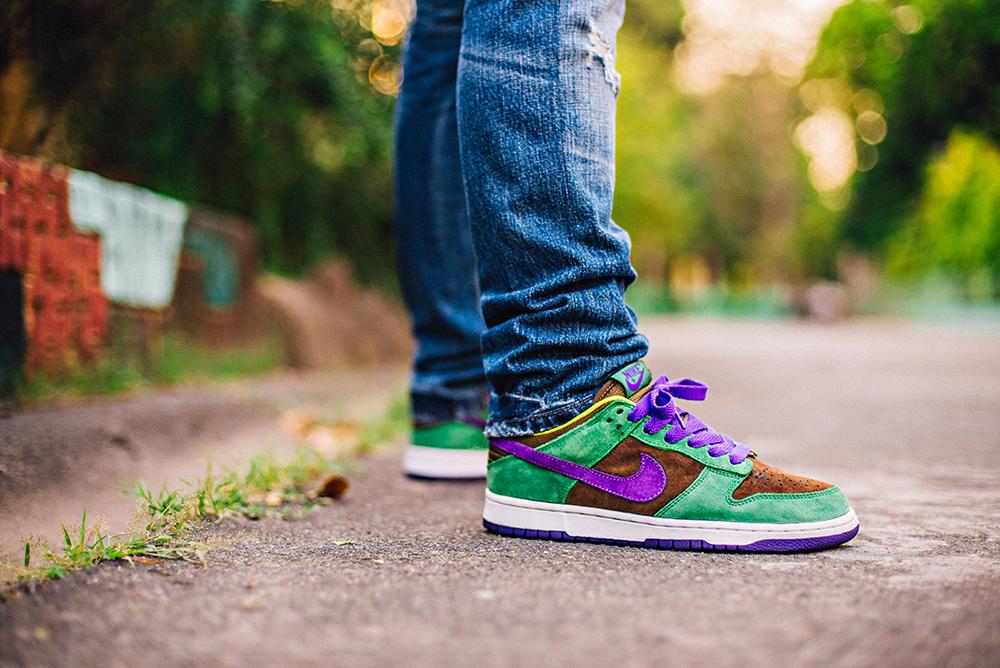 nike dunk low pro veneer sneakers