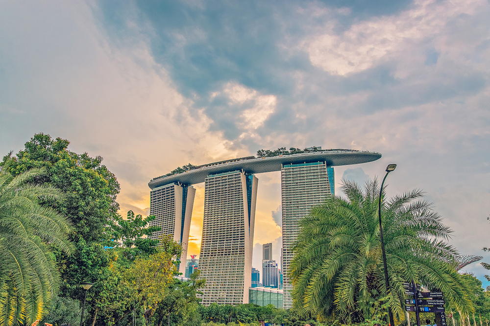 Singapore Gardens by the Bay Marina Bay Sands Vacation