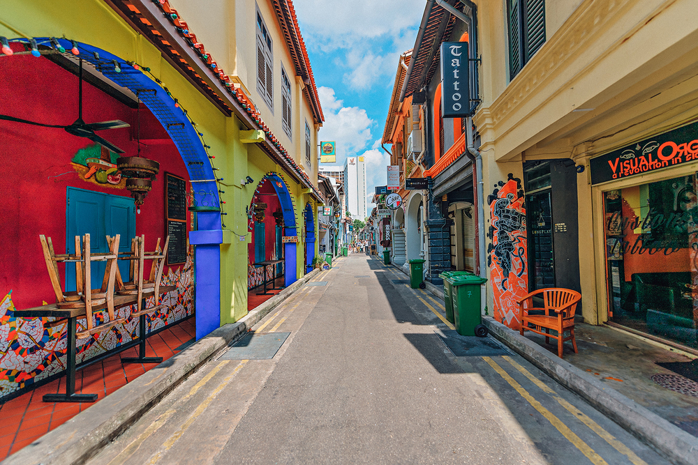 Singapore Haji Lane Vacation