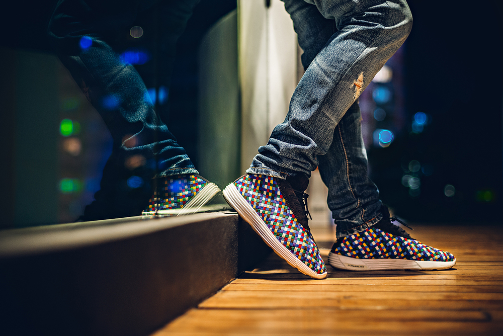 Nike Lunar Chukka Woven+ Sophnet Sneakers Photography