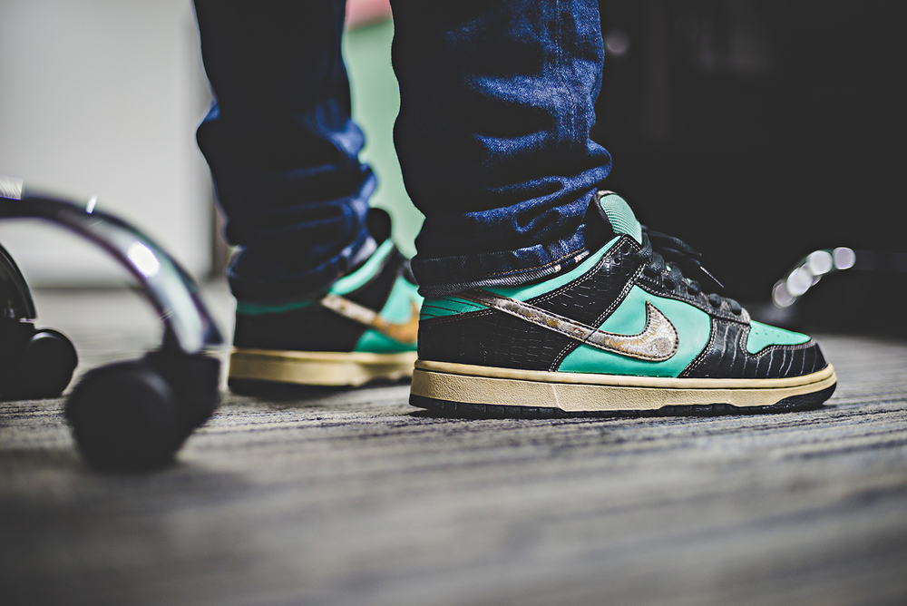 Nike Dunk SB Diamond Tiffany Sneakers Photography WDIWT WOMFT