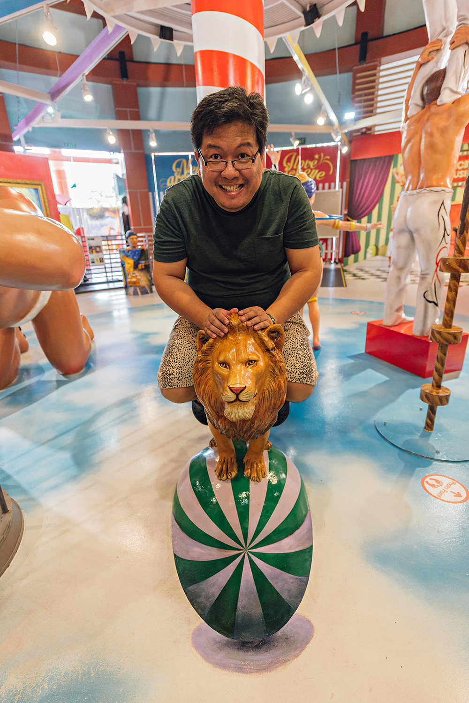 Singapore Trick Eye Museum Sentosa Island Resort Travel Photography