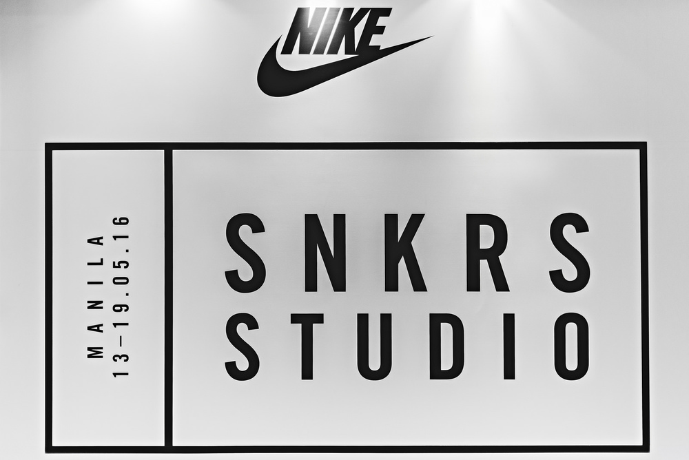 Commonwealth Nike SNKRS Studio Sneakers Photography
