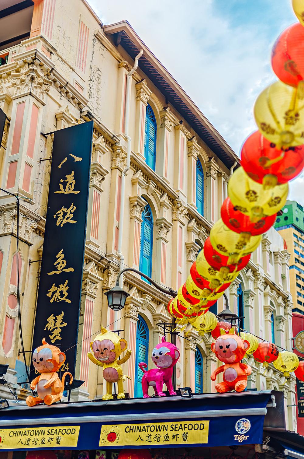 Singapore Chinatown Travel Photography