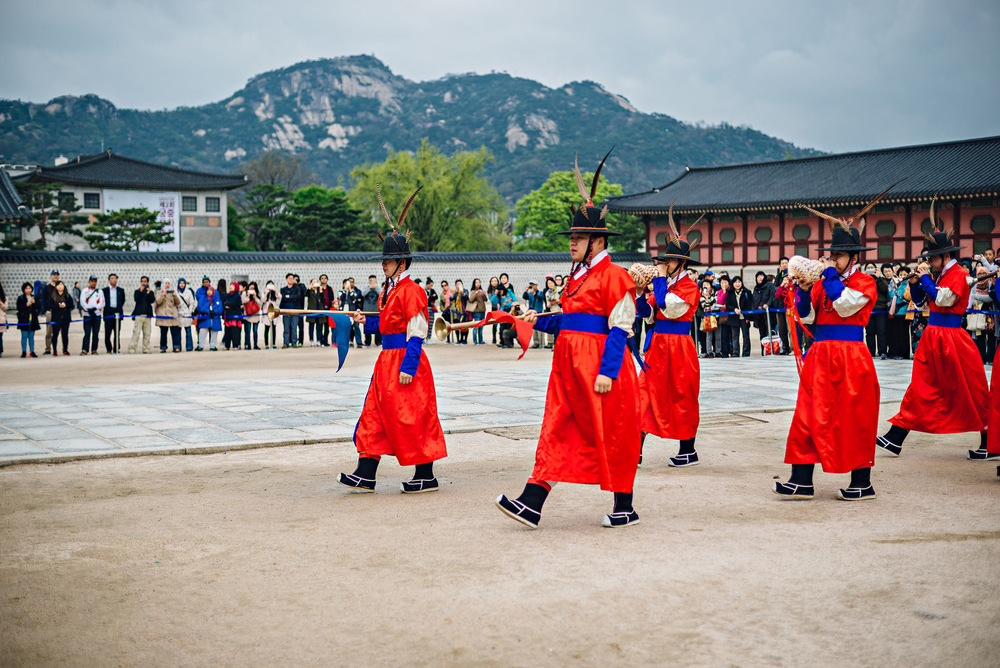 Gyeongbokgung Palace 경복궁 Seoul South Korea Travel Photography 2016