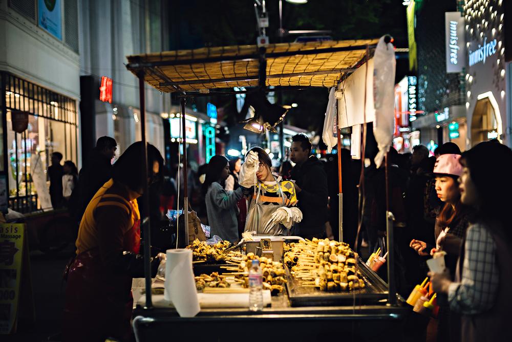 Seoul South Korea Myeongdong 명동Travel Photography 2016