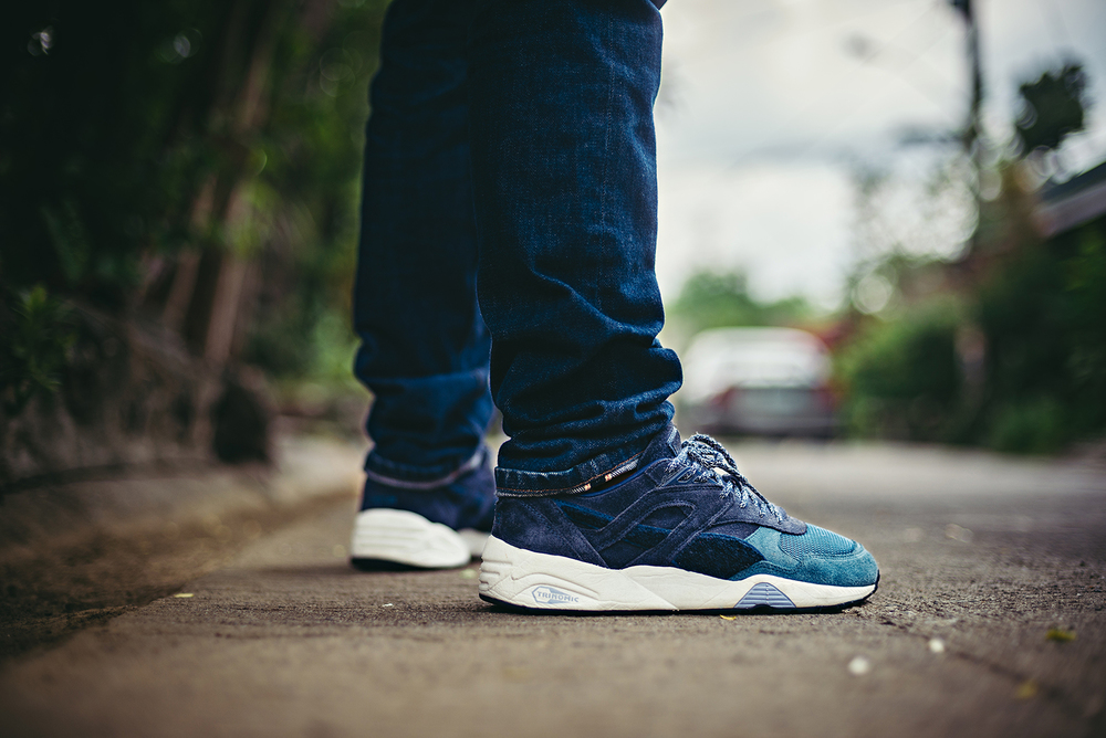 Puma BWGH R698 Blue Field WDIWT Sneakers Photography