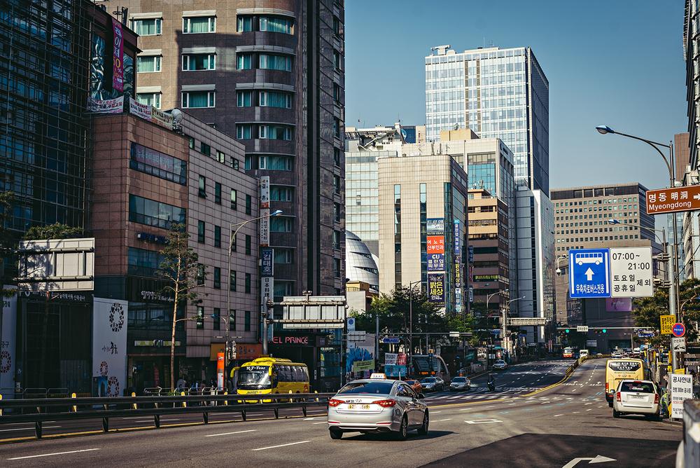 Seodaemun 서대문Myeongdong Seoul South Korea Travel Vacation 2016