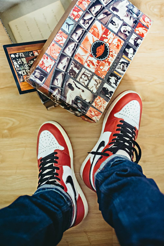 Air Jordan 1 Retro 1994 Chicago Sneakers Photography