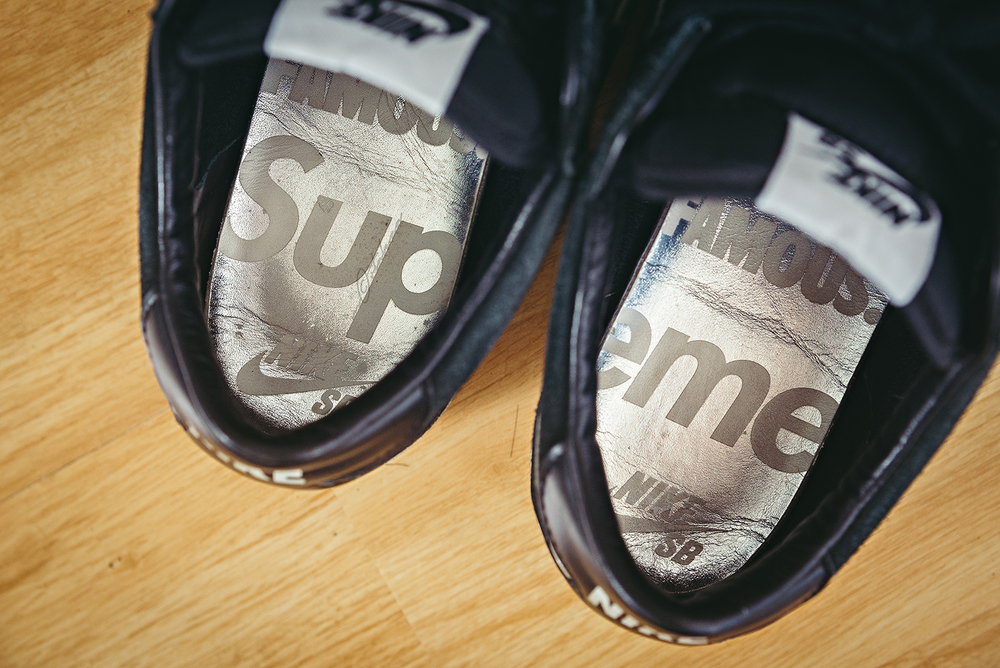 Nike Bruin SB Supreme WDIWT Sneakers Photography