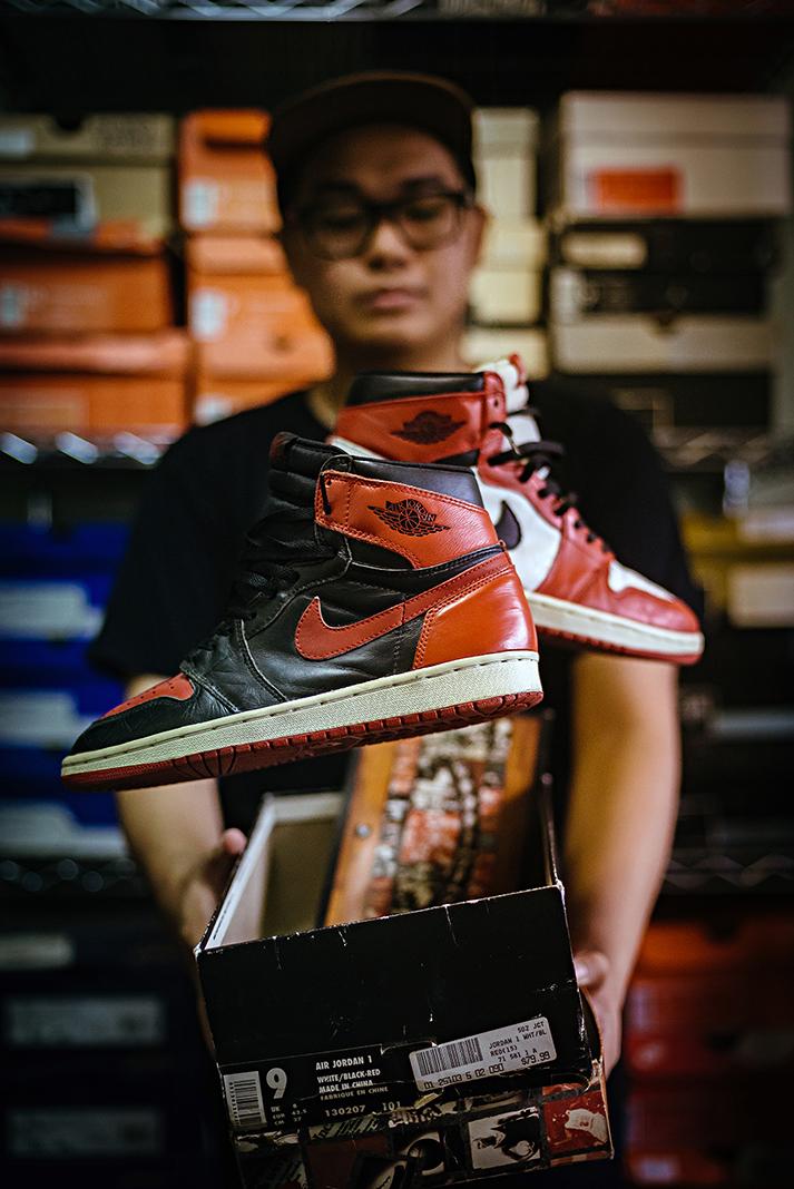 Air Jordan 1 Senyor Cheng Sneakers Photography Levitate