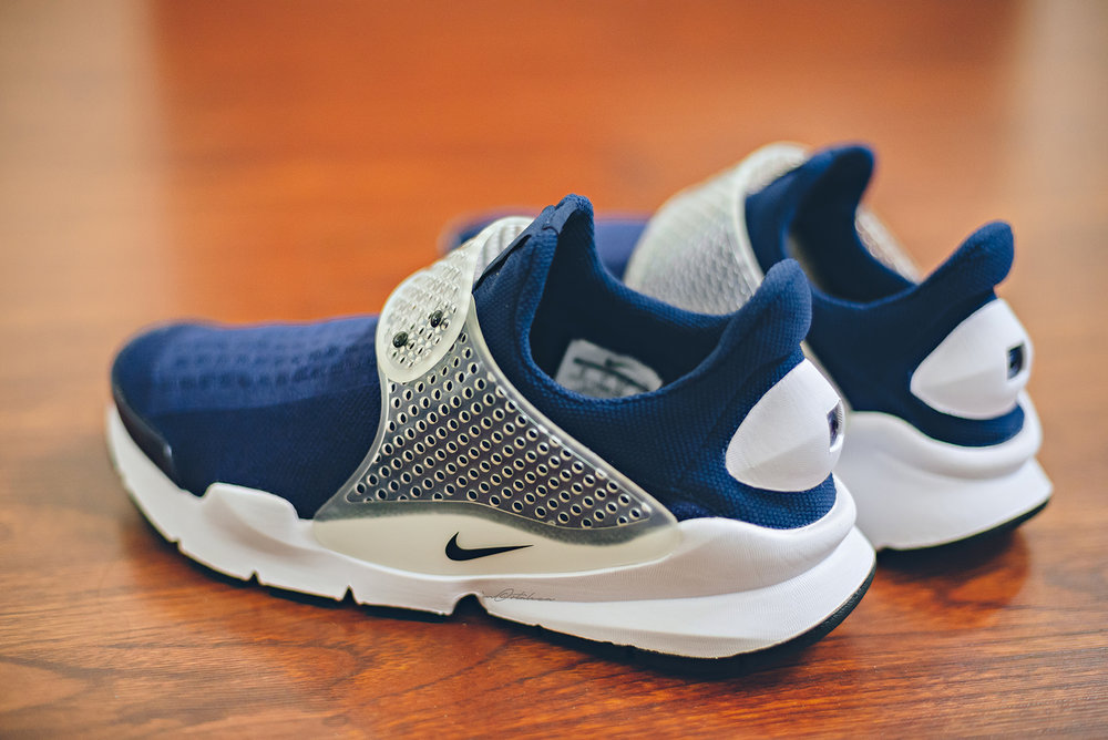 Nike Sock Dart Midnight Navy Sneakers Photography