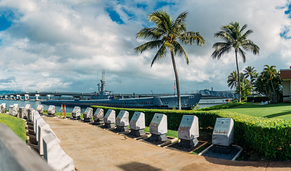 Pearl Harbor Hawaii USS Bowfin Submarine Museum Park Travel Photography