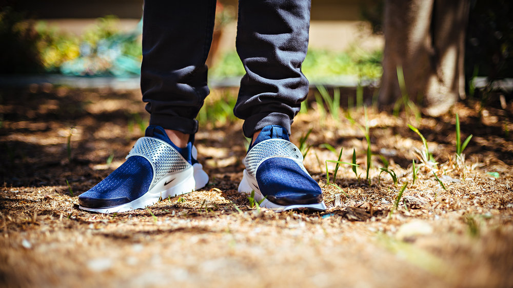 Nike Sock Dart Midnight Navy WDIWT Sneakers Photography