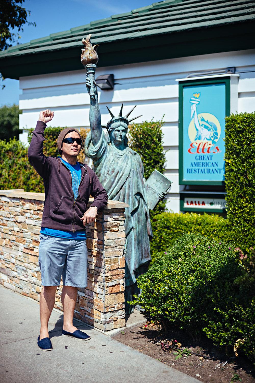 Elli's Great American Restaurant Salinas California Vacation 2016