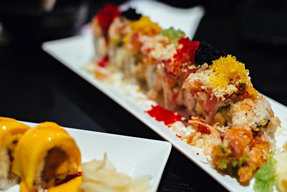 Las Vegas Roll Arigato Sushi Japanese Restaurant Salinas Vacation 2016