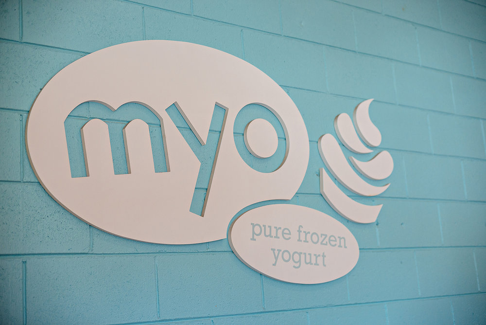 MYO Pure Frozen Yogurt Salinas California Photography Vacation 2016