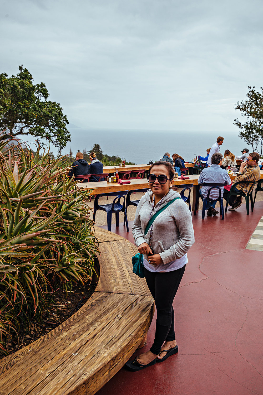 Nepenthe Restaurant Big Sur California Vacation Photography 2016