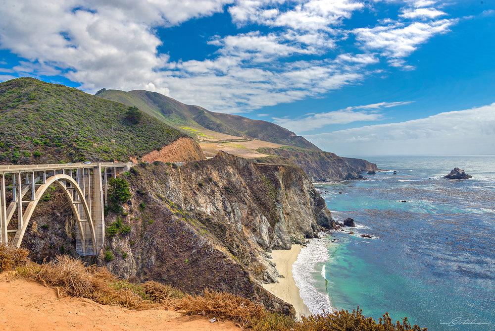 Bixby Creek Bridge Big Sur California Photography Landscape Vacation 2016