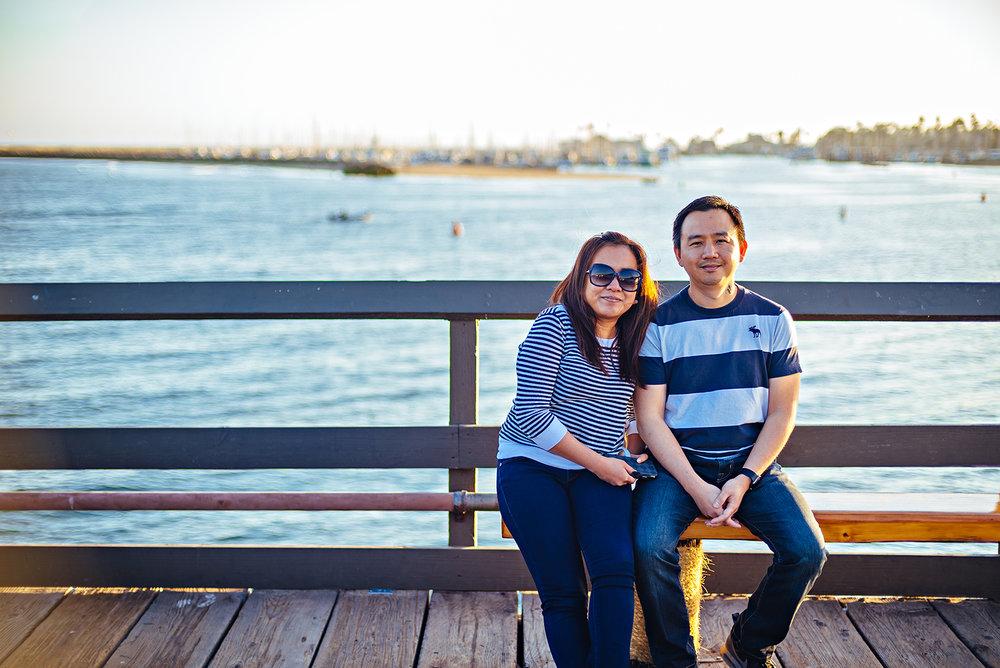 Santa Barbara Stearns Wharf California Vacation Photography 2016