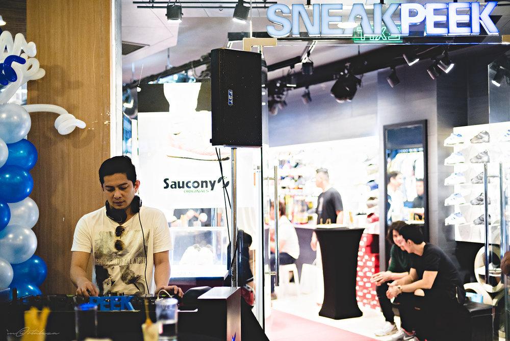Marc Marasigan Sneak Peek Trinoma Opening Saucony Puma Launch Photography
