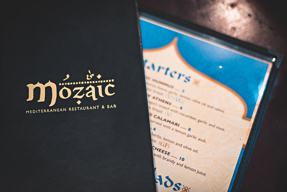 Mozaic Santa Cruz California Mediterranean Restaurant Food Photography Vacation