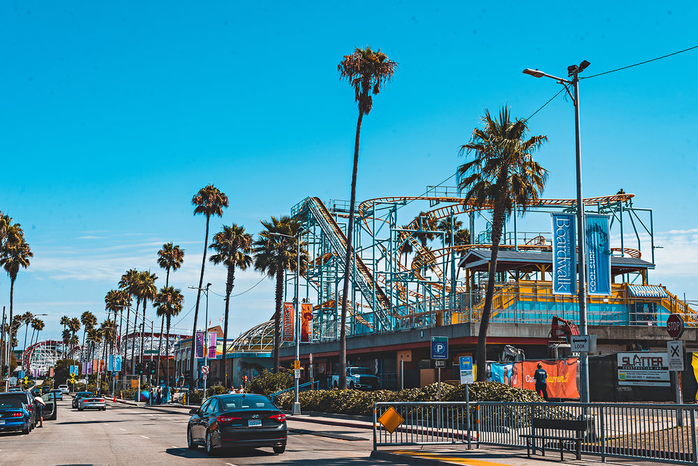 Santa Cruz Beach Boardwalk California Photography Vacation