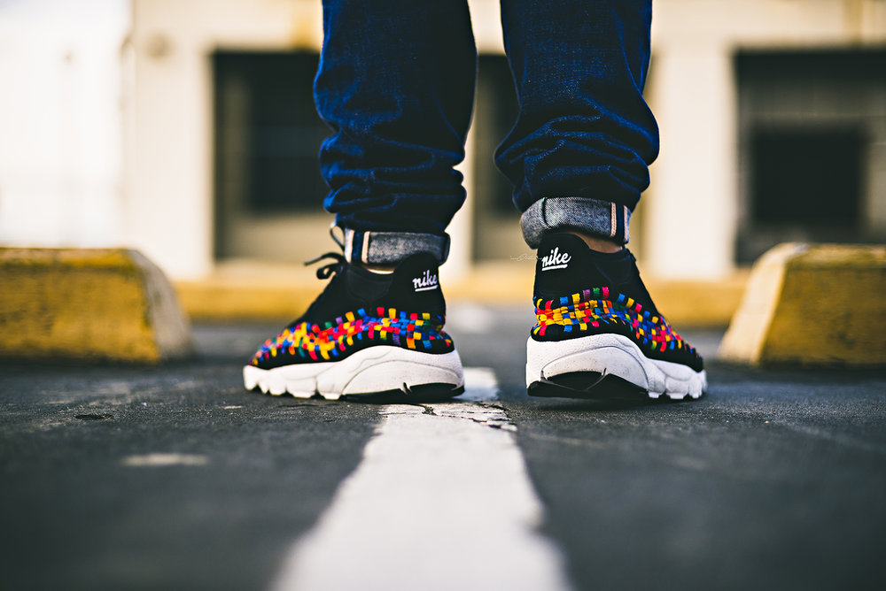 Nike Rainbow Footscape Woven Chukka Black WDIWT WOMFT Sneakers Photography