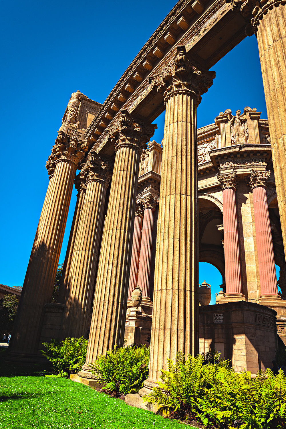Palace of Fine Arts San Francisco California Photography Vacation 2016