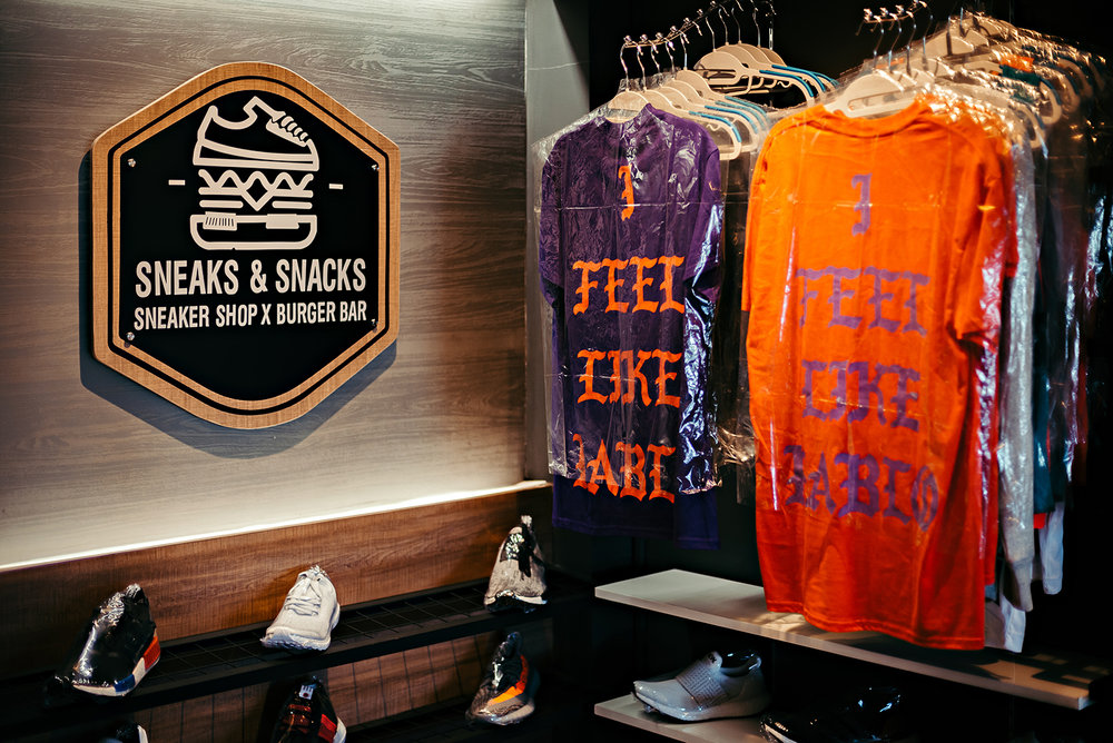 Sneaks & Snacks Maginhawa Quezon City Restaurant Burger Bar Sneakers
