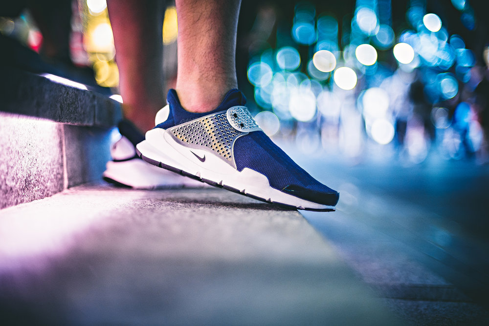 Nike Sock Dart Midnight Navy WDIWT Sneakers Photography Orchard Singapore