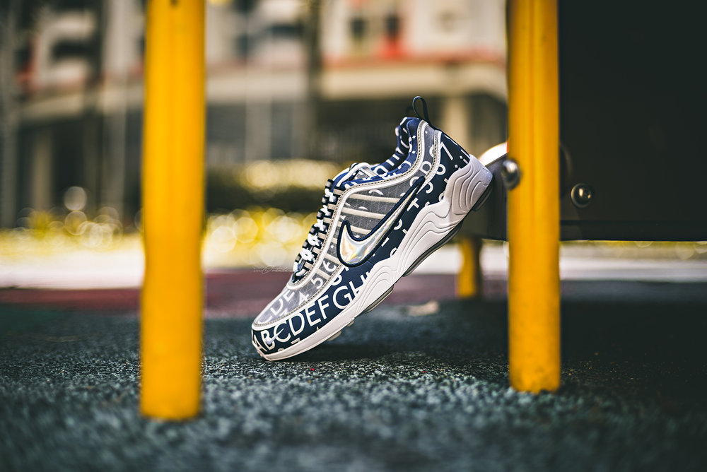 NikeLab Roundel London Underground Air Zoom Spiridon GPX Sneakers Photography