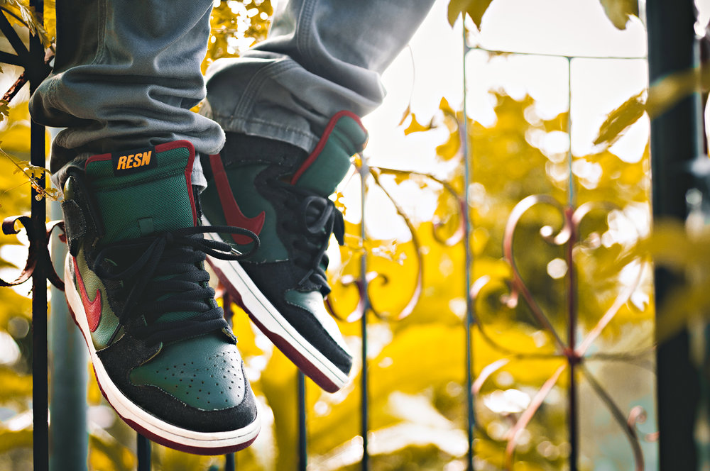 RESN Nike Dunk High SB Sneakers Photography WDIWT