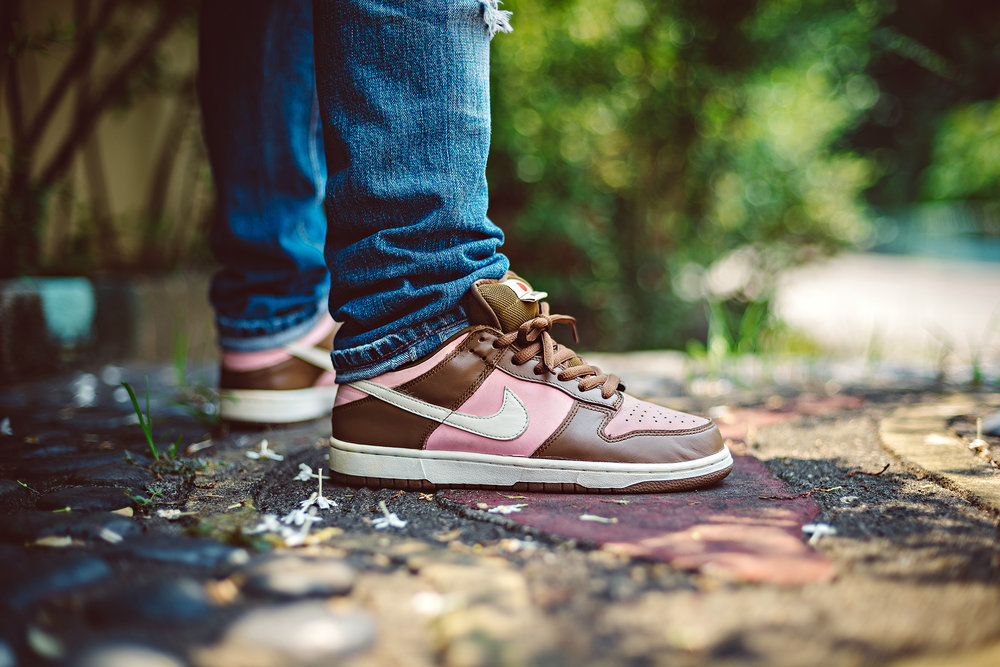 Stussy Nike Dunk Low SB Sneakers Photography