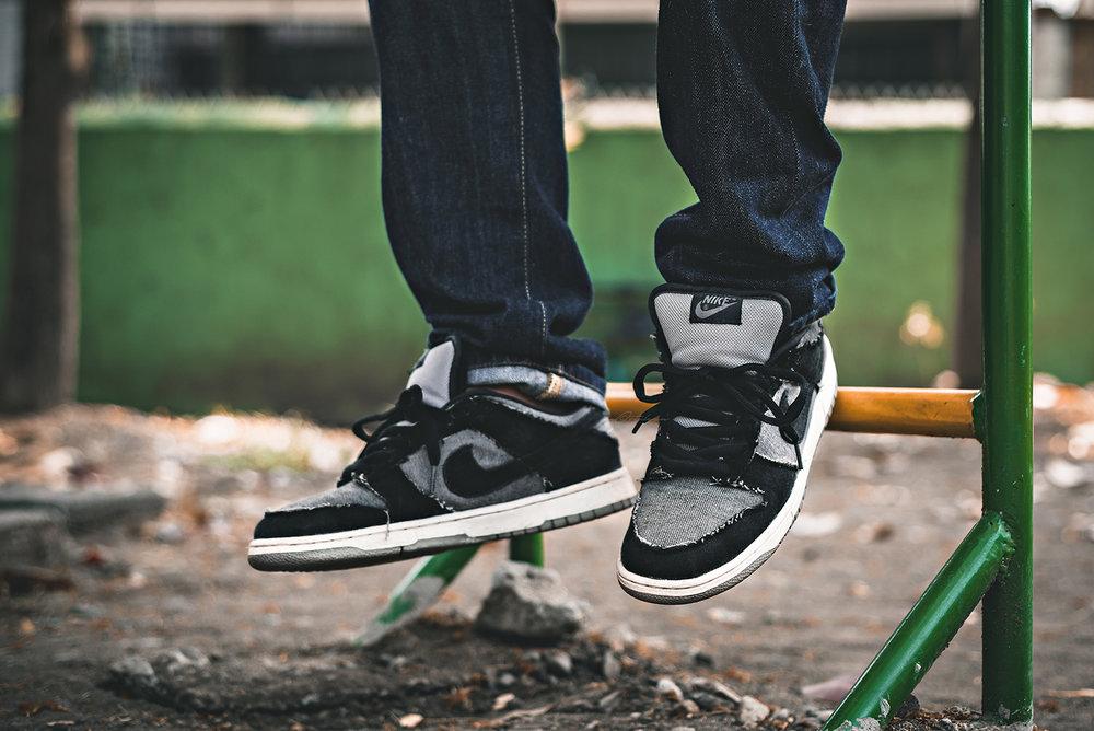 Medicom Nike SB Dunk Low Sneakers Photography