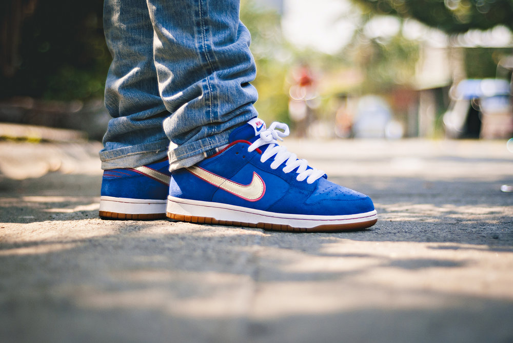 Koston Nike Dunk Low SB Sneakers Photography WDIWT
