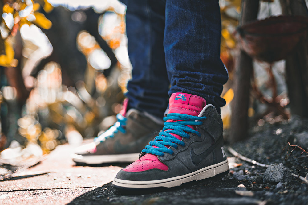 Brain Wreck Nike Dunk High SB Todd Bratrud Sneakers Photography