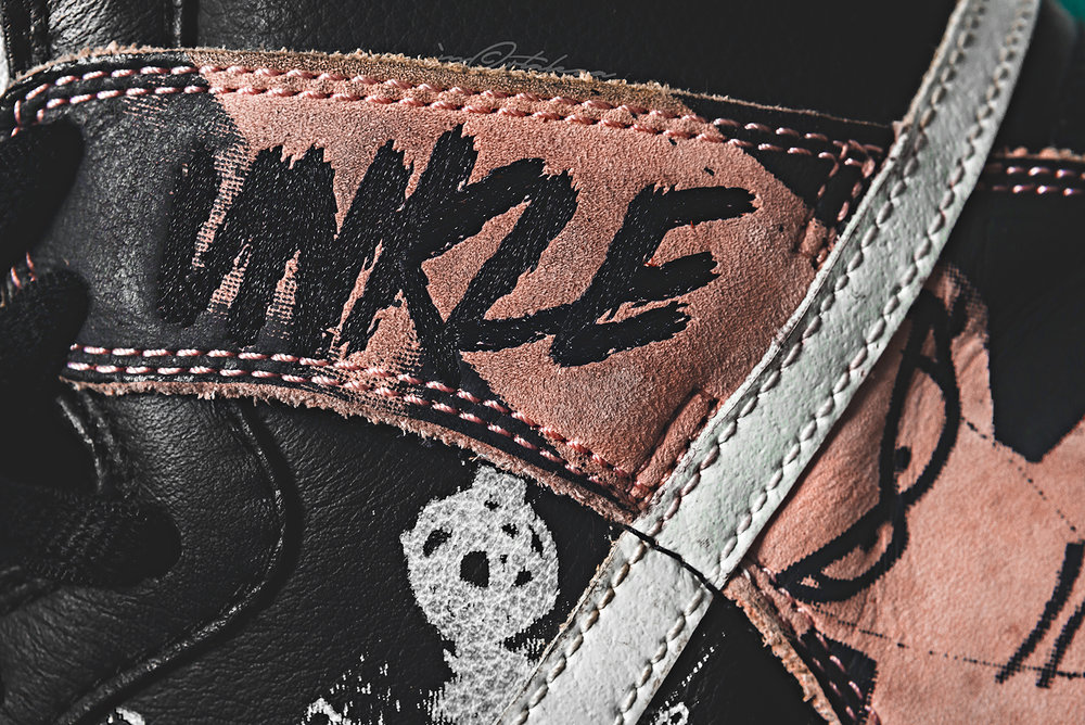 Unkle Nike Dunk SB Dunkle Futura Sneakers Photography