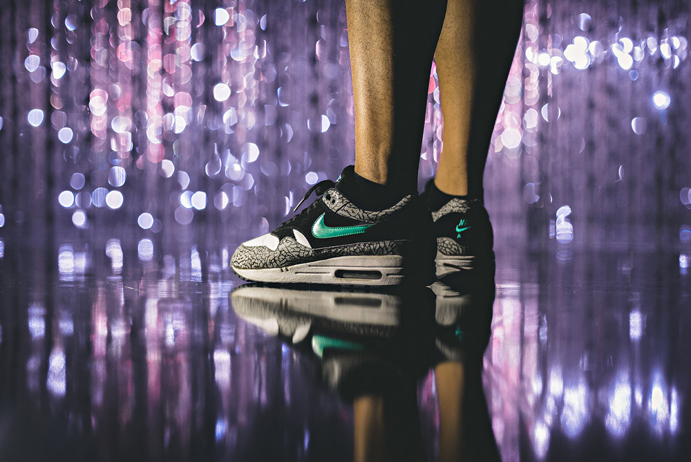 2008 Nike Atmos Air Max 1 Elephant Print Sneakers Photography WDIWT