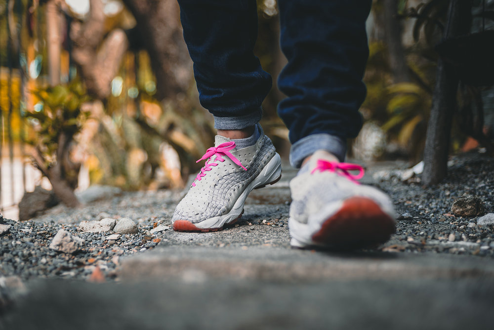 Nike Air Footscape Woven Pink Pack Sneakers Photography WDIWT