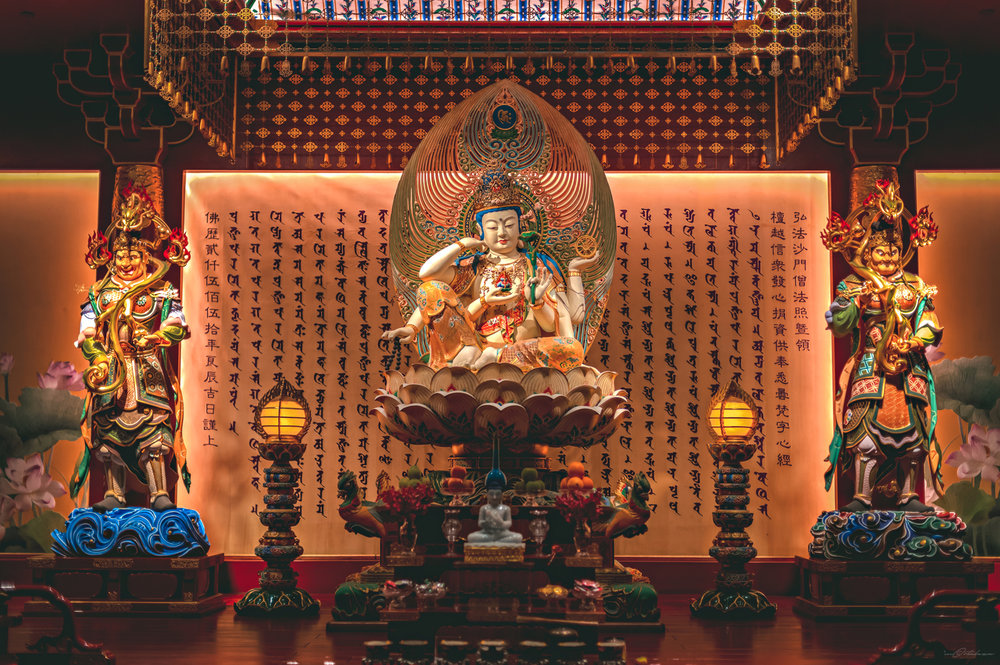 Buddha Tooth Relic Chinatown Singapore Photography 2017