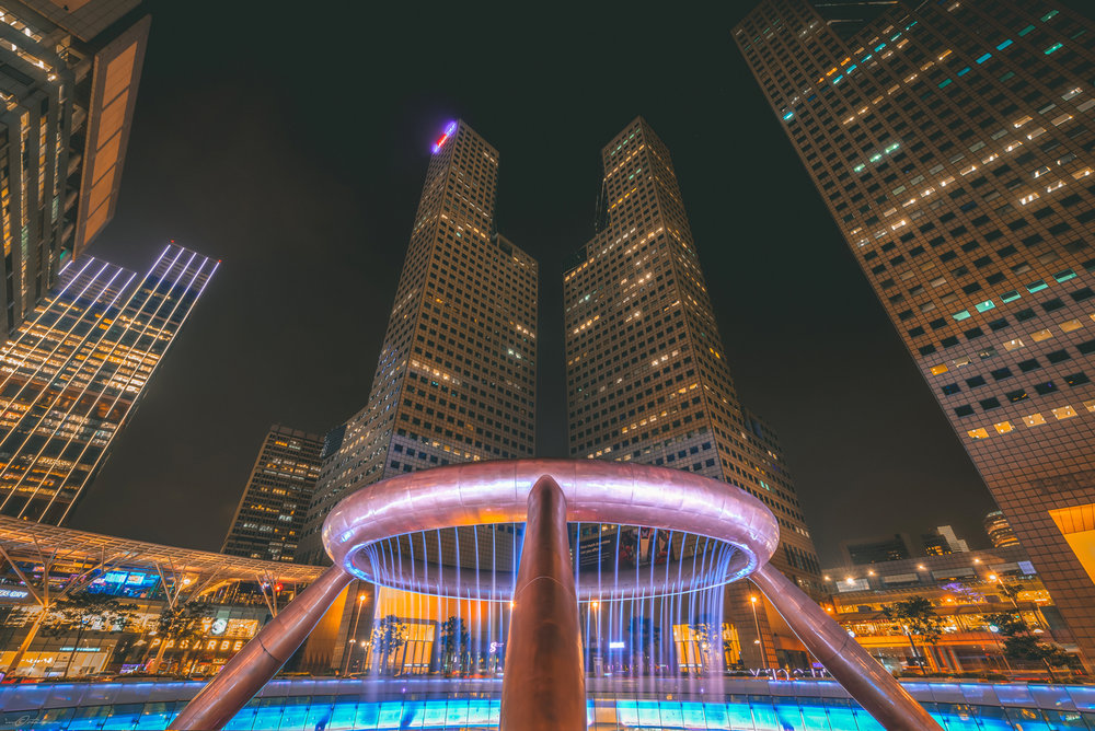 Fountain of Wealth Suntec City Singapore Photography Vacation 2017