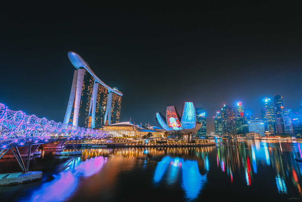 iLight Marina Bay Singapore 2017 Photography Vacation